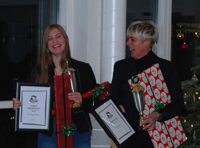 Klubmestrene 2015: Louise Ladefoged og Pia Grensteen