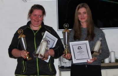 Klubmestre 2016 - Malene Graversen (senior) og Louise Ladefoged (junior)