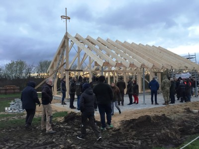 Rejsegilde på den nye klubhus, 20. november 2018